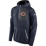 Nike Men's Chicago Bears Sideline 2016 Alpha Fly Rush Navy Jacket