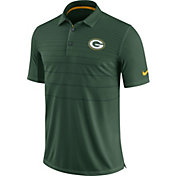 Nike Men's Green Bay Packers Sideline 2017 Early Season Green Polo