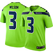 Nike Men's Color Rush 2016 Seattle Seahawks Russell Wilson #3 Legend Game Jersey