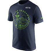 Nike Men's Seattle Seahawks Local Icon Navy T-Shirt