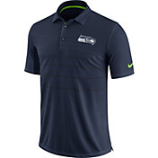Nike Men's Seattle Seahawks Sideline 2017 Early Season Navy Polo