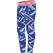 Nike Toddler Girls' Dri-FIT Sport Essentials All-Over Print Capris