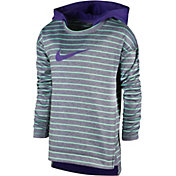 Nike Toddler Girls' Therma-FIT Heather Stripe Hoodie