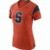 Nike Women's Syracuse Orange Fan Orange/Blue V-Neck T-Shirt