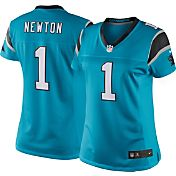 Nike Women's Color Rush 2016 Limited Jersey Carolina Panthers Cam Newton #1