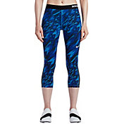 Nike Women's Pro Cool Overdrive Printed Capris