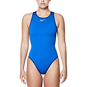 Nike Women's Solid Water Polo Swimsuit