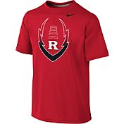 Nike Youth Rutgers Scarlet Knights Scarlet Football Icon Legend T-Shirt