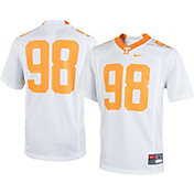 Nike Youth Tennessee Volunteers White #98 Game Football Jersey