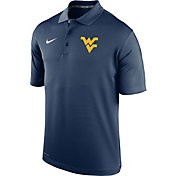 Nike Youth West Virginia Mountaineers Blue Varsity Performance Polo