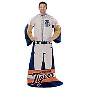 Northwest Detroit Tigers Uniform Full Body Comfy Throw