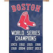 Party Animal Boston Red Sox 8-time World Champions House Flag