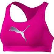 Puma Women's Kylie Jenner PWRSHAPE Forever Logo Graphic Sports Bra