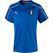 PUMA Youth Euro 2016 Italy Replica Home Jersey