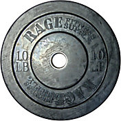 RAGE 10 lb. Olympic Bumper Plate