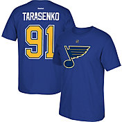 Reebok Men's St. Louis Blues Vladimir Tarasenko #91 Replica Royal Player T-Shirt