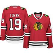 Reebok Women's Chicago Blackhawks Jonathan Toews #19 Home Red Premier Jersey
