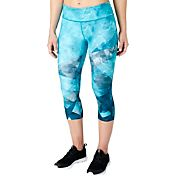 Reebok Women's Performance Essentials Printed Capris
