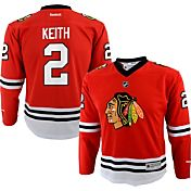 Reebok Youth Chicago Blackhawks Duncan Keith #2 Replica Home Jersey