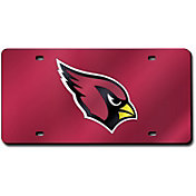 Rico Arizona Cardinals Red Laser Tag License Plate