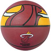 Spalding Miami Heat Full-Sized Court Side Basketball