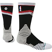 Stance Portland Trail Blazers On Court Core Crew Socks