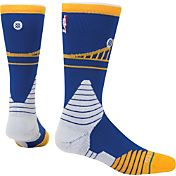 Stance Golden State Warriors On Court Crew Blue Socks