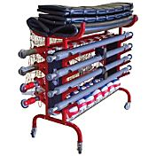 Tandem Portable Volleyball Equipment Carrier