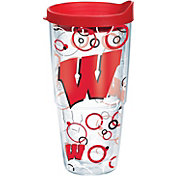 Tervis Wisconsin Badgers Bubble Up Wrap 24oz Tumbler