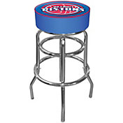 Trademark Games Detroit Pistons Padded Bar Stool