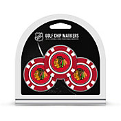 Team Golf Chicago Blackhawks Poker Chips Ball Markers - 3-Pack