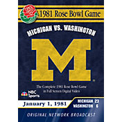 1981 Rose Bowl Game DVD