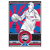 That's My Ticket Los Angeles Clippers Chris Paul Sports Propaganda Canvas Serigraph