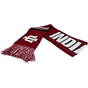 Top of the World Women's Indiana Hoosiers Crimson/Cream Polar Vortex Scarf