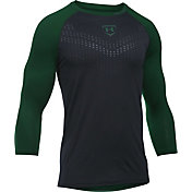 Under Armour Boys' Heater ¾ Sleeve Baseball Shirt