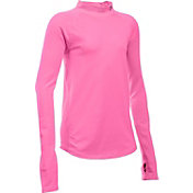 Under Armour Girls' ColdGear® Mock Neck Long Sleeve Shirt