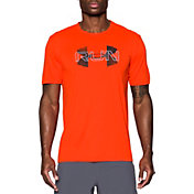 Under Armour Men's Run Overlap Logo T-Shirt