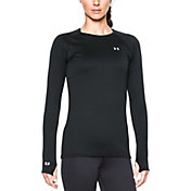Under Armour Women's Base 2.0 Crew Long Sleeve Shirt