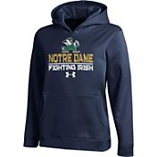 Under Armour Youth Notre Dame Fighting Irish Navy Armour Fleece Hoodie