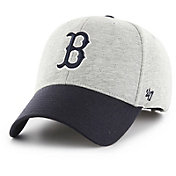 '47 Men's Boston Red Sox Retent MVP Grey Adjustable Hat