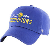 '47 Men's 2017 NBA Champions Golden State Warriors Clean-Up Royal Adjustable Hat