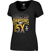 '47 Women's 2017 NHL Stanley Cup Champions Pittsburgh Penguins T-Shirt