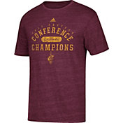 adidas Men's 2017 Eastern Conference Champions Cleveland Cavaliers Burgundy Tri-Blend T-Shirt