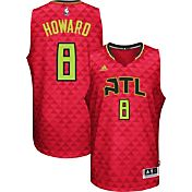 adidas Men's Atlanta Hawks Dwight Howard #8 Alternate Red Swingman Jersey