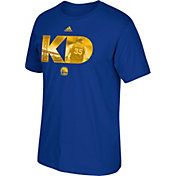 adidas Men's Golden State Warriors Kevin Durant Royal T-Shirt