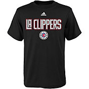 adidas Youth Los Angeles Clippers Black T-Shirt