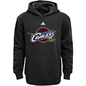 adidas Youth Cleveland Cavaliers Black Hoodie