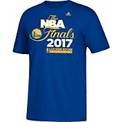 adidas Youth 2017 Western Conference Champions Golden State Warriors Locker Room Royal T-Shirt