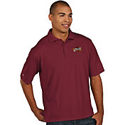 Antigua Men's Cleveland Cavaliers Xtra-Lite Burgundy Pique Performance Polo