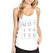 good hYOUman Women's Casey Motivated Graphic Tank Top